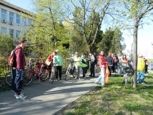 Biciklitúra Szatmárnémeti Természetjárók gyülekező