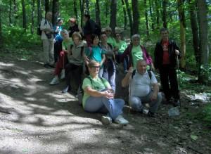 Szatmárnémeti Természetjárók gyalogtúra a Fokhagymás patak partján