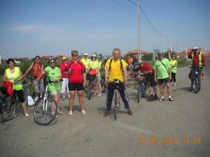 Szatmárnémeti természetjarók kerékpáros kirándulás