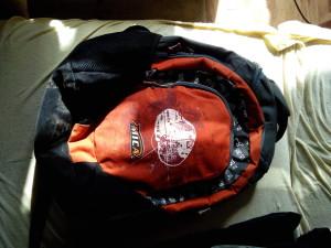 kicsi túrázó hátizsák