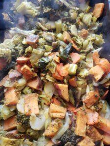 Zöldségek sütőben